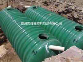 江苏厂家直销玻璃钢化粪池、高效生物化粪池批发、100立方化粪池