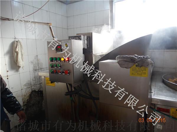 豆制品油炸生产设备,豆泡油炸机