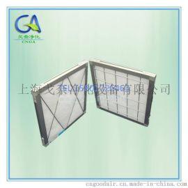 初效过滤棉板式过滤器 铝框板式过滤器