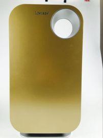 供應土豪金高端空氣淨化器 多重過濾負離子家用氧吧