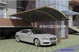 2mm烟灰耐力板车棚-PC阳光板-广东耐力板厂家