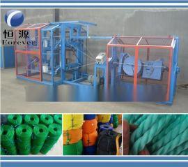 塑料制绳机,棉麻线制绳机,搓绳机性能稳定效率高