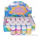 廠家批發直銷 五彩瓶裝泡泡水玩具 塑膠玩具