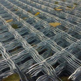 专业生产低碳斜纹菱形美格网 小区楼房防盗窗 养殖铁丝网