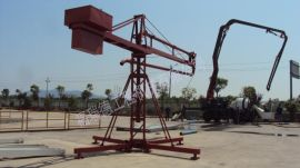 新型建筑工程机械电动混凝土布料机 12米15米18米无线电布料机