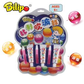 厂家直销泡泡胶,吹泡泡儿童玩具,爆款太空吹波胶