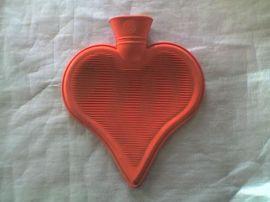 心型热水袋