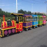 大型电动古典火车游乐设备,游乐场代步工具热销