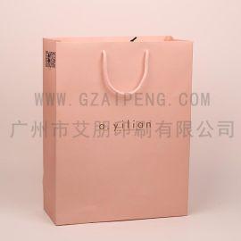 手提袋定制印刷纸袋定做礼品袋订制服装包装袋白卡黑卡牛皮纸袋