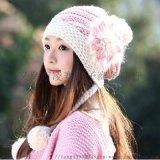 冬季加绒毛线帽 成人女士帽