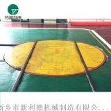 上海厂家90度转弯车 十字交叉轨道转盘定制生产