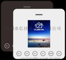 亿佳音供应家庭智能远程语控86版3寸背景音乐主机