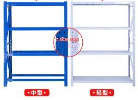 货架仓储家用储物置物架多层仓库展示架铁架子自由组合
