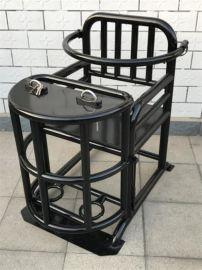 标准方形审讯椅,铁质审讯桌椅,方管式铁质审讯椅,