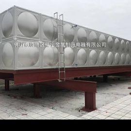 陕西成品不锈钢水箱 组合式不锈钢消防水箱