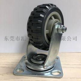 重型4寸至8寸灰色风火轮手推车脚轮 厂家直销