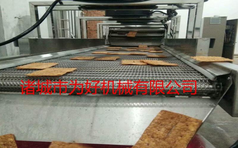 薄脆油炸机设备工艺流程
