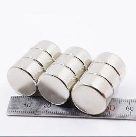 蒙兴隆钕铁硼强磁圆形  力磁铁φ18X10mm