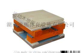 体育专用木地板 双龙骨结构(A级面板)