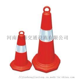 山西塑料方锥 橡胶路锥厂家 晋城反光路锥