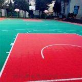 四川德陽市防滑懸浮地板籃球場