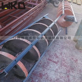 选矿螺旋溜槽生产厂家 尾矿回收设备 溜槽多少钱
