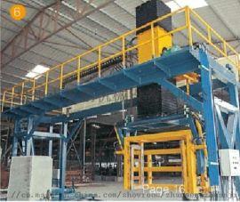 全自动免烧环保砖机-QT12-液压砌块成型机
