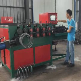 河北制造:液压数控螺旋筋成型机,钢筋弯圆机