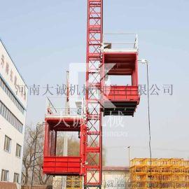 SC120/120河南大诚齿轮齿条建筑施工升降机