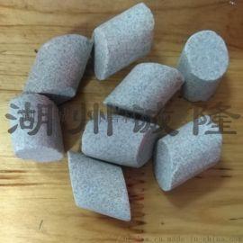 钭圆柱棕刚玉抛光磨料,钭圆柱研磨石生产厂家