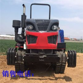 座驾式50  四缸拖拉机  履带式农用耕地拖拉机
