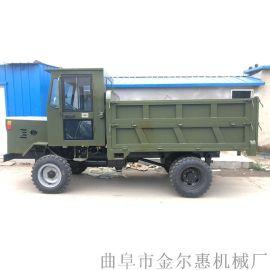 农村砖石运输车 双顶自卸柴油四轮车