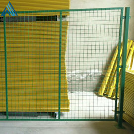 厂区车间隔离网/室内仓库黄色围栏