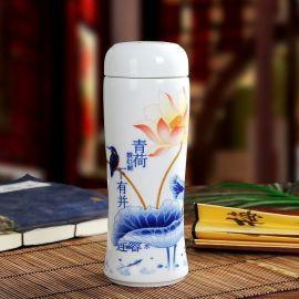 生产陶瓷保温杯,景德镇保温杯
