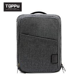 韩国    TOPPU商务男士双肩包背包大学生电脑书包TP477