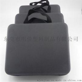 eva箱包热压加工厂家 海绵复皮热压包包