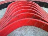 裱紙機圓弧齒形帶/PVC輸送帶東莞順九機械廠家直銷