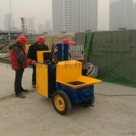 楼房施工二次构造柱泵 混凝土砂浆灌浆浇筑泵