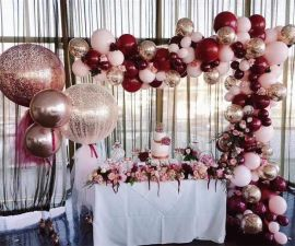 昆明,花語花香,年會氣球,商場氣球布置