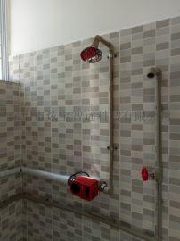 洗澡刷卡计量收费控制器。刷卡淋浴器,洗澡节水刷卡器