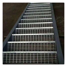 宝旭楼梯踏步钢格板厂家批发镀锌下水道钢格盖板常规尺寸备有现货