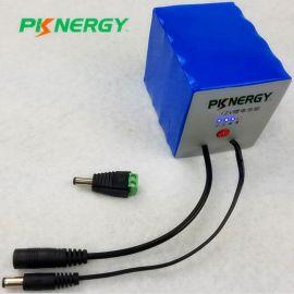 定制带电量便携式后备电源**电池18650 12V电池 40AH充电电池电源