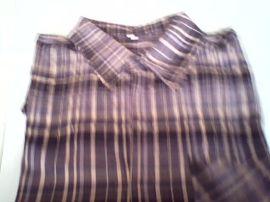 男士短袖全棉格子衬衫