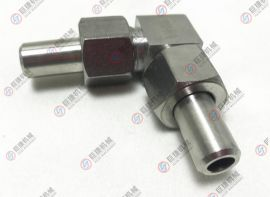 高压直角管接头 不锈钢对焊直角弯头 螺纹弯头
