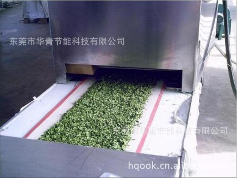 小型食品微波烘干机 出口食品干燥 广东霸王剑花微波烘干机厂家