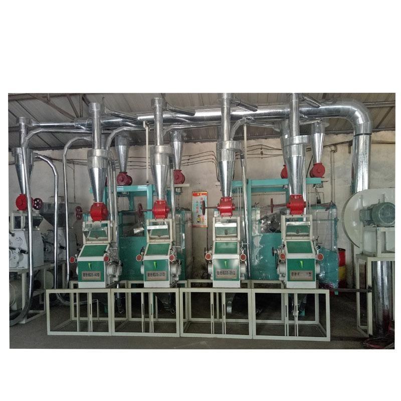 永丰粮机厂杂粮四机组平筛制粉成套面粉加工设备