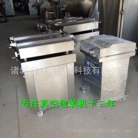 400食品真空包装机单室大泵茶叶米砖封口包装机干湿两用真空机