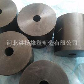 現貨供應100*100*20橡膠減震彈簧 高彈耐磨橡膠減震器 規格齊全