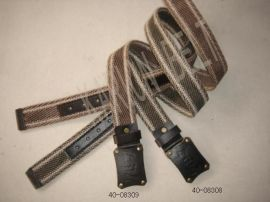 个性帆布腰带(40-08309&40-08308)