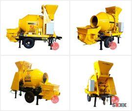 农村实用的小型混凝土输送泵,搅拌拖泵